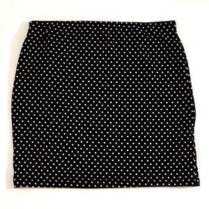 Zara Polka Dot Skirt - Medium